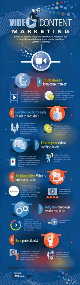 Video Content Marketing for your site or business. #videomarketing #business #webmarketing