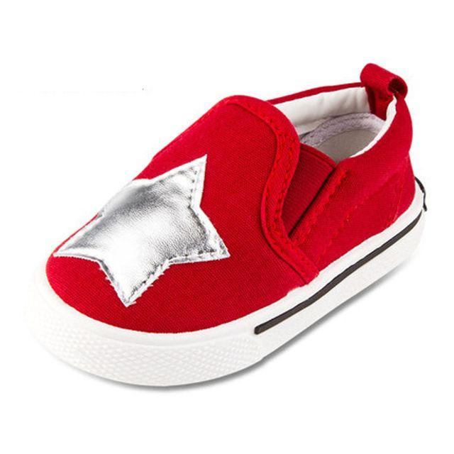 Plantilla de 13 ~ 16.3 cm niños shoes for baby boys shoes girls canvas shoes estrella