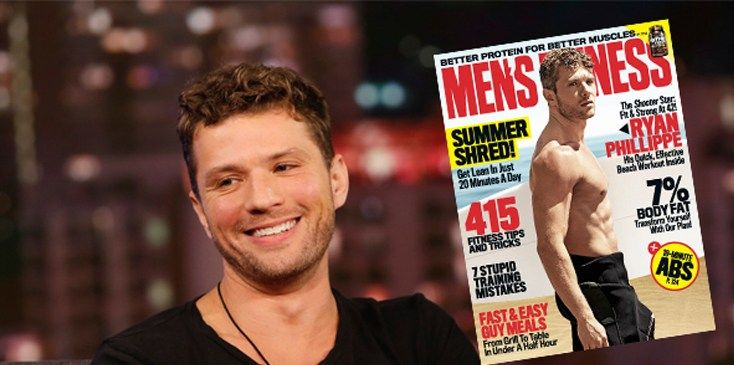 Ryan Phillippe is showing off his hot body on the cover of the June issue of Men's Fitness. The hunky star of the USA Network's Shooter displays his washboard abs and in the feature inside the maga...