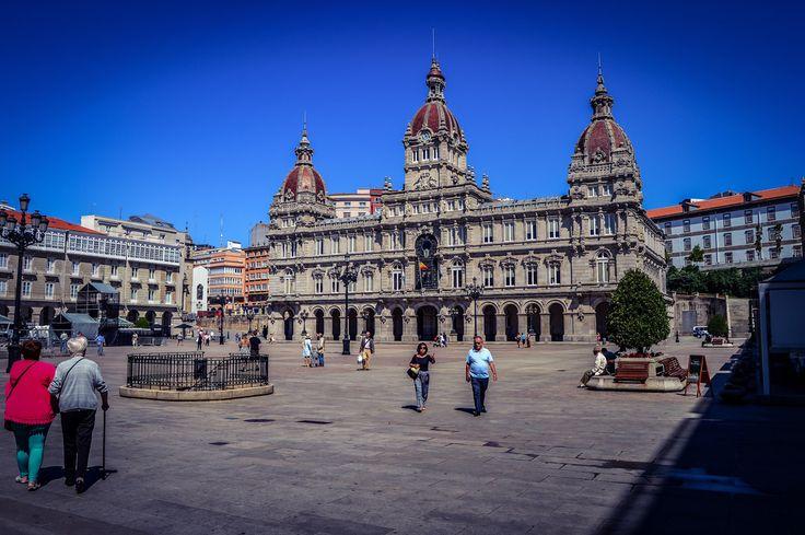 Plaza de Maria Pita (A Coruña - Spain)