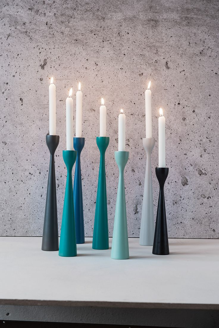 Want a quick colour boost? Choose your favorite Freemover candle sticks and they'll do their colour magic.