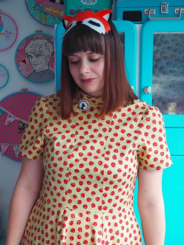 Fantastic Mrs Fox Dress, Tilly & The Buttons Martha Dress, Fantastic Mr Fox Outfit, Wes Anderson