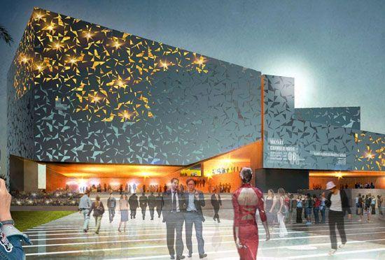 henning larsen architects: palacio de congresos, lanzarote 1st prize