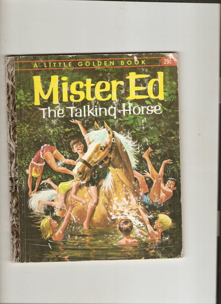 "Vintage Little Golden Book Mr. Ed the Talking Horse 1962 ""A"" ed. Hard to Find Book"