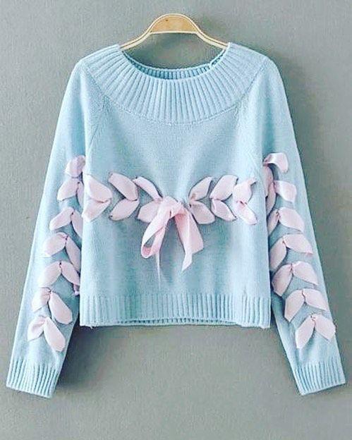 REMADE svetr z marwillu plus stužka