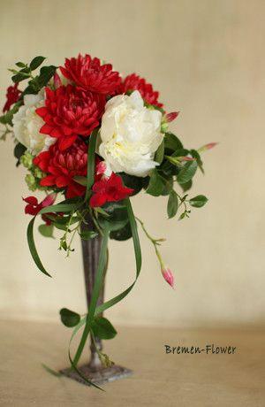 和風の会場装花 の画像 ウェディングブーケのデザイン集