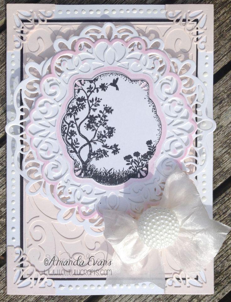 Sue Wilson Scandinavian Die Set Mothers Day Card - Lolli Lulu Crafts