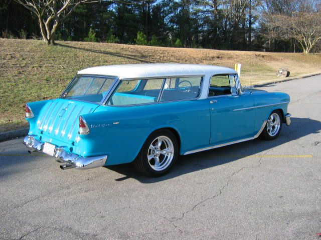 1955 Nomad. Seriously thinking this should be our branded company car.
