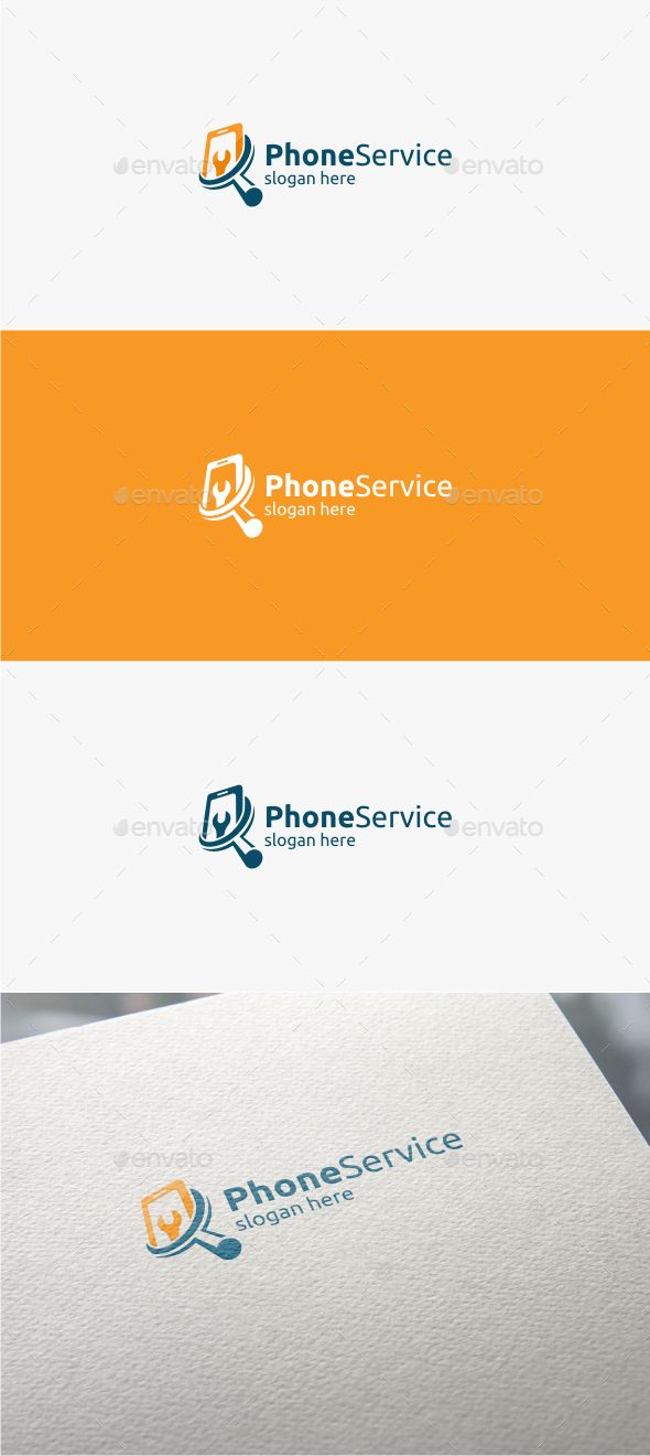 Phone Service - Logo Template