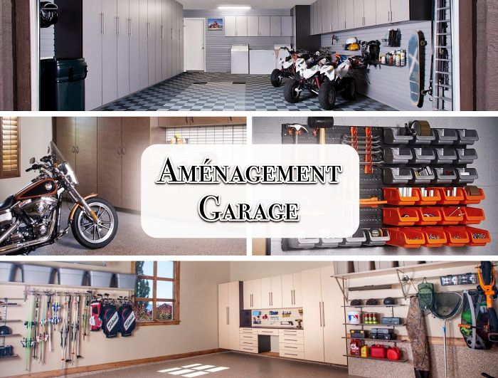 1001 Exemples D Amenagement Garage Fonctionnel Amenagement