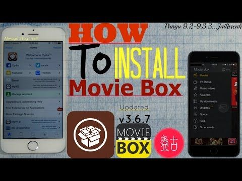 iOS 9.3.3/9.2/9.3:How To Install (MOVIE BOX)NEW v3.6.7| Watch+Download FREE TV Shows,Movies & Videos - YouTube