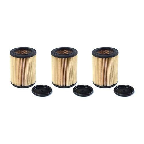 Replacement Vacuum Filter for Shark 90328 Cartridge Filter Air Filter Model (3pk)