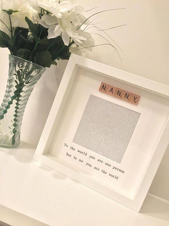 Grandmother Gift Grandma Mothers Day Nanny Frame Birthday Nan From Grandchildren New