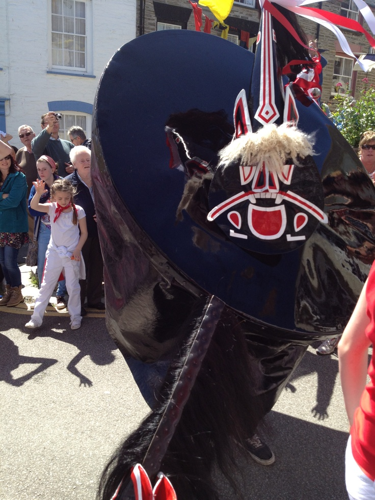 MAY DAY (01 May)   Padstow: The Obby Oss. Padstow ...