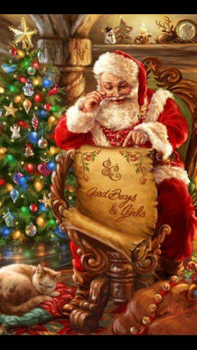 """One of the great uncles dress up as Santa at a pre- Christmas dinner and hands out gifts. He makes a wonderful """"coke a cola"""" Santa."""