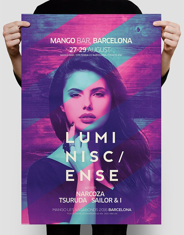 Club Poster on