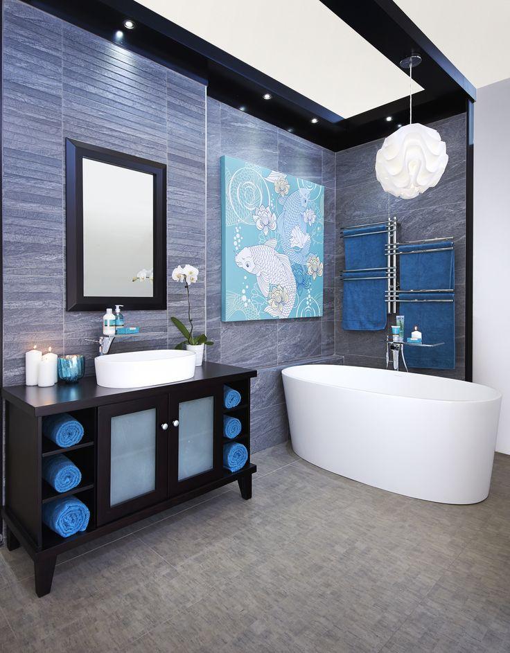 Beautiful Blue #bathroombizarre #bathroom #inspiration #style #modern #classic