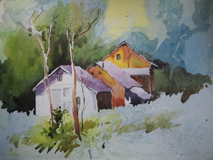 64 best David Bellamy Paintings & Tutorials images on Pinterest ...