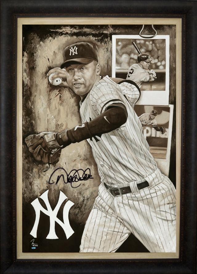 "Derek Jeter of the New York Yankees in ""Old School"" by Justyn Farano."