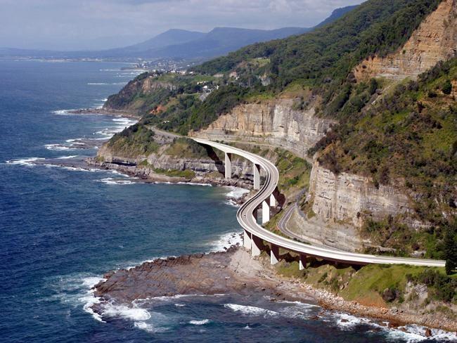 Seacliff Bridge  Grand Pacific Drive NSW #Australia