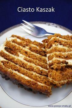 Kaszak - miodowe ciasto z kaszą manną (Honey cake with grit - recipe in Polish)