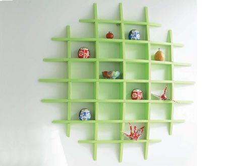 Home-Dzine - How to make a knick-knack shelf: idea for a knick knack shelf for Emily (not exactly, but getting close)