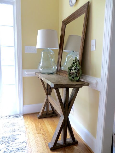 Katrina Foyer Table : Best entryway furniture ideas on pinterest diy sofa