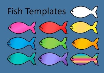 6 fish per page3 fish swimming left / 3 fish swimming rightColours:  white  pink / magenta  red  yellow  blue  green  orange  turquoise  purple  multi-coloured**********************************************************************  Suzanne Welch Teaching ResourcesTpT credits Earn TpT credits by providing feedback on this product after you purchase it.