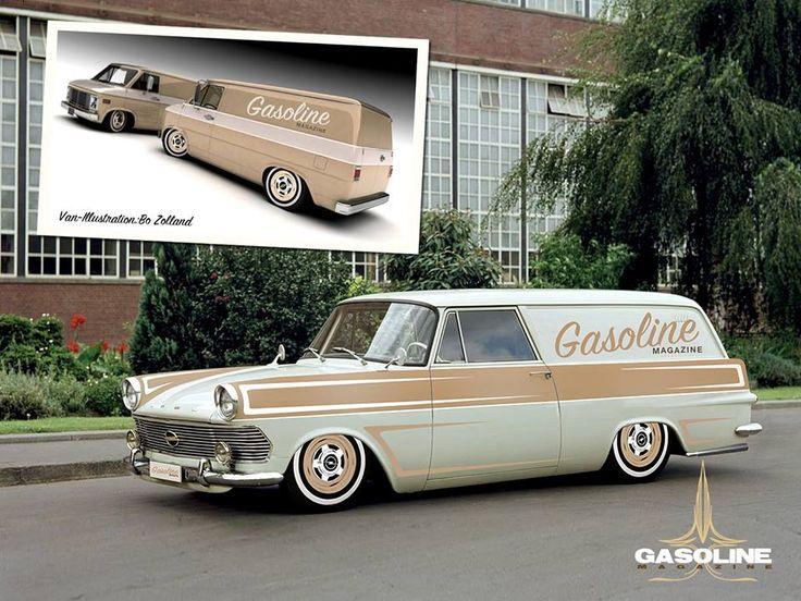 Opel Rekord  http://gasolinemagazine.se/