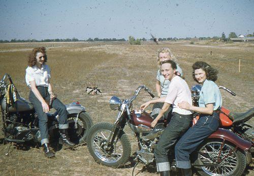 The Tomboy– Capital City Motorcycle Club, California c. 1950