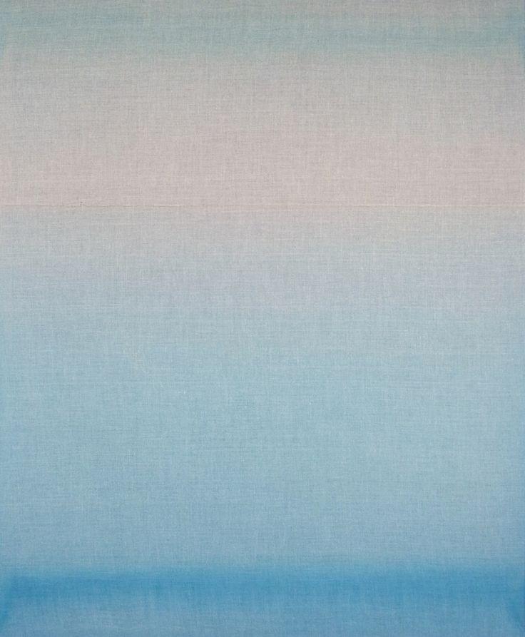 Couleur du temps 12, 2014 Acrylic painting on raw linen canvas 140 x 170 cm Agathe de Bailliencourt