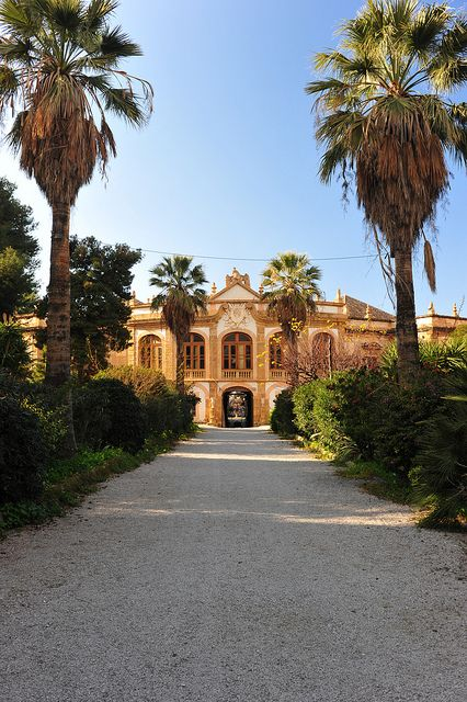 Villa Palagonia, Bagheria, Palermo, Sicily - Chef Benny and I danced in this villa to no music a long, long time ago!
