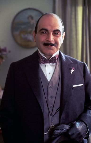 HERCULE POIROT (Agatha Christie) is supposed to be another of those sophisticated Belgians and this one specifically known for his odd sense of detail