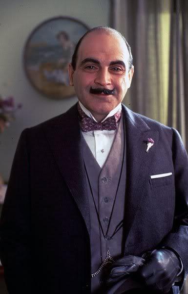 David Suchet interpreta a Hércules Poirot, el famoso detective creado por Agatha Christie