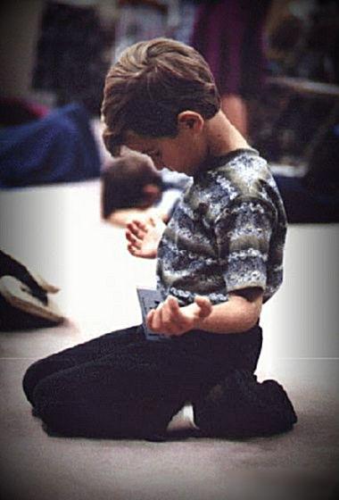 "Jesus said, ""Let the little children come unto Me!"""