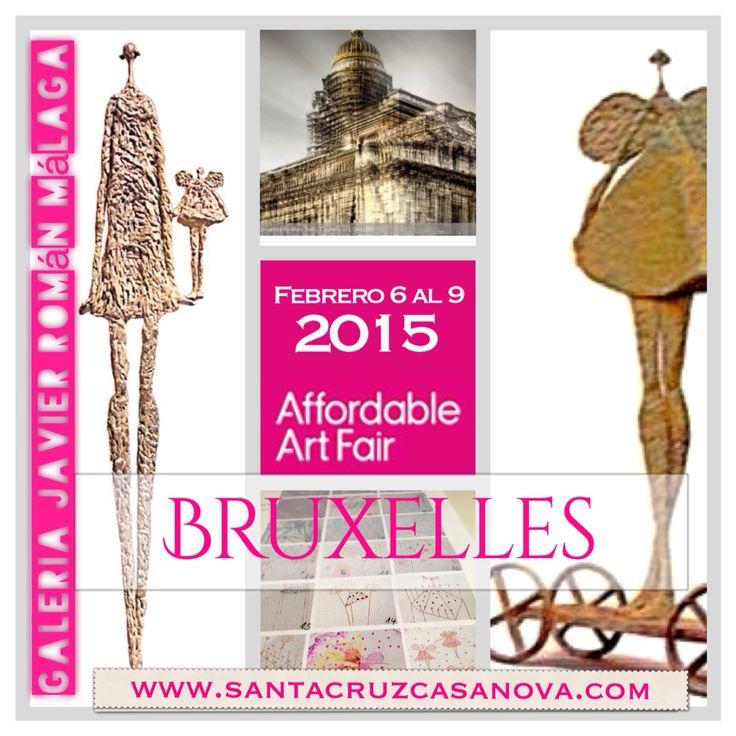 Feria en Bruselas en la que participó Febrero 2015