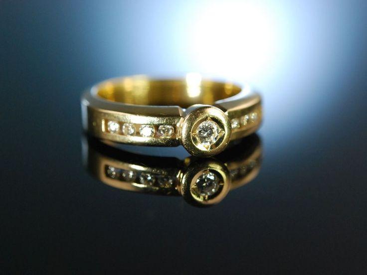 You are my Diamond engagement ring! Brillant Verlobungs Ring Gold 585 / 14 Karat, Diamanten 0,25 ct,  erlesene individuelle Verlobungsringe bei Die Halsbandaffaire