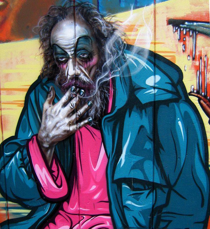 Best Street Art Utopia Ideas On Pinterest Street Art Love - Street artist turns street furniture into characters