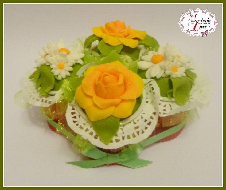 Cupcakes little bouquet