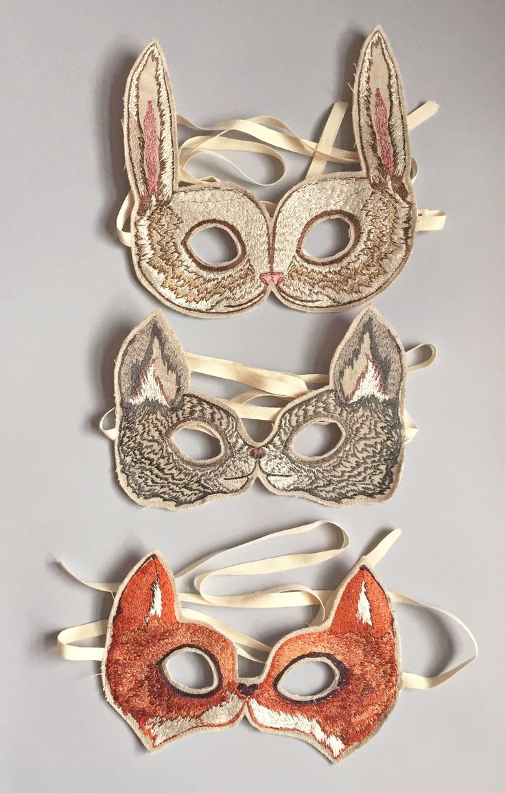 Coral & Tusk - embroidered masks