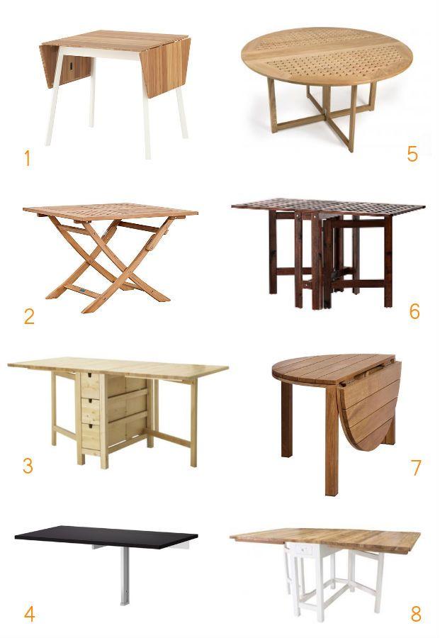 8x handige klaptafels voor binnen en buiten - Roomed | roomed.nl