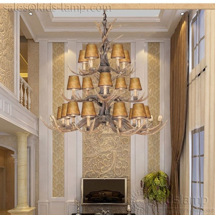 12 best kids nursery chandelier pendant lights images on pinterest antique fake faux antler chandeliers lighting nursery aloadofball Image collections