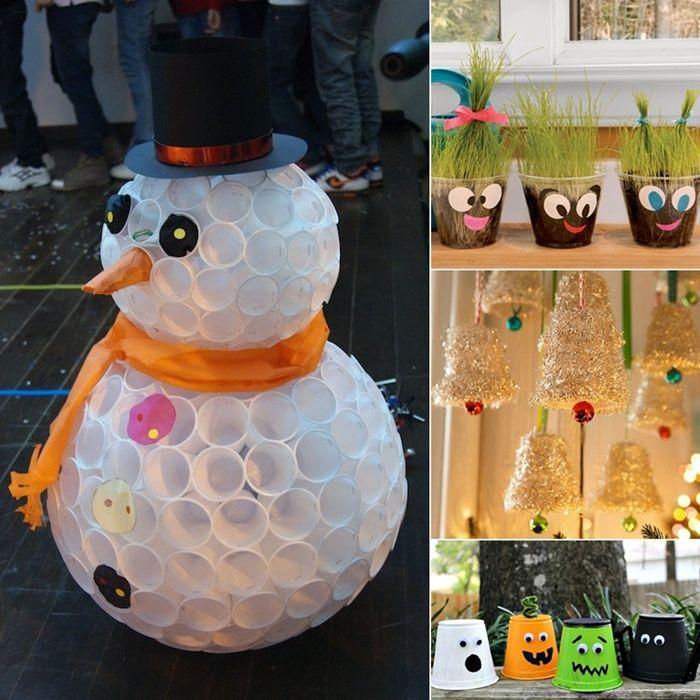 Best 25+ Plastic Cup Crafts Ideas On Pinterest