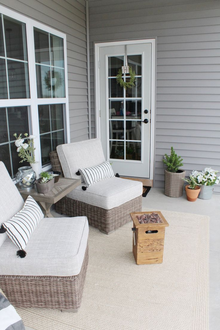 Beachcroft Armless Chair with Cushion, Beige in 2020 ... on Beachcroft Beige Outdoor Living Room Set id=24163