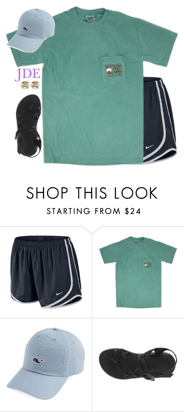 """jde"" by jane-dodge ❤ liked on Polyvore featuring NIKE, Chaco and Ben-Amun"