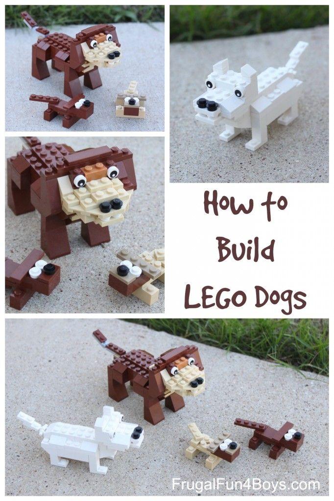 LEGO Dog Building Instructions