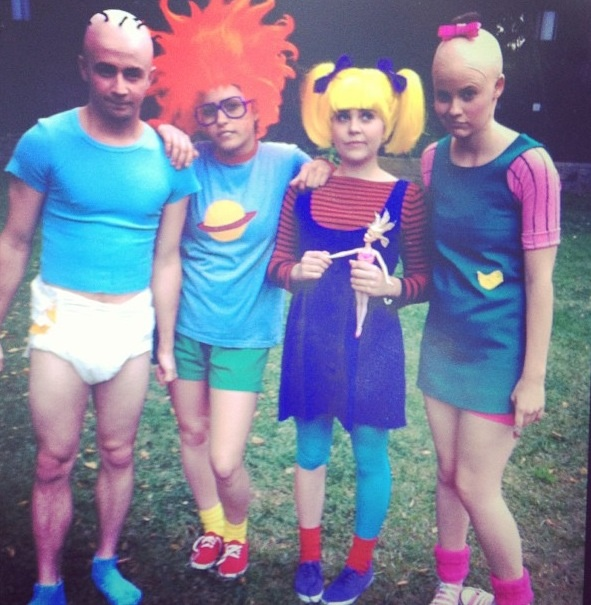 Rugrats group costume (daddyangelou). #halloween #watchwigs www.youtube.com/wigs