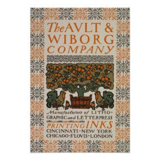 NYPL   Ault & Wilborg Company Advertisement Poster