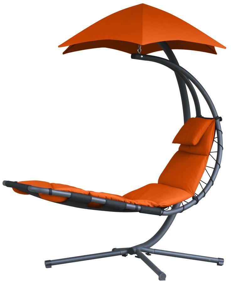 Zweefbed orange zest - tuinmeubelen.nl