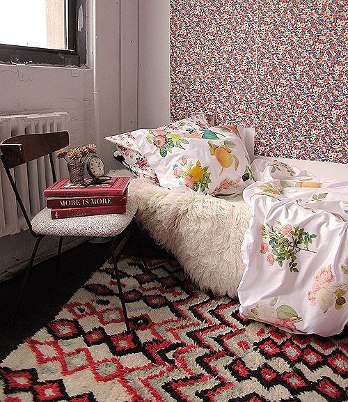Dorm DIY: Iron-Transfer Floral Duvet Cover